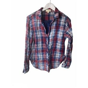 Cloth and Stone Plaid shirt